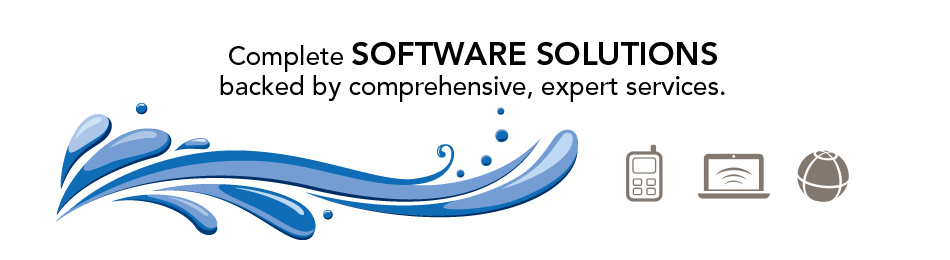 Complete Software Solutions backed by comprehensive, expert services.